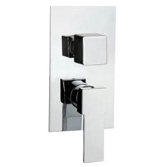 Contemporary Built In Three Way Shower Diverter